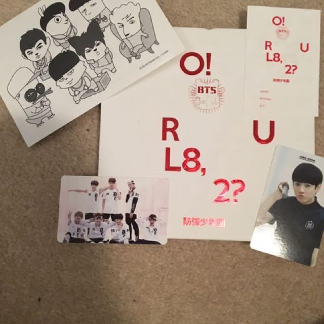 BTS CD