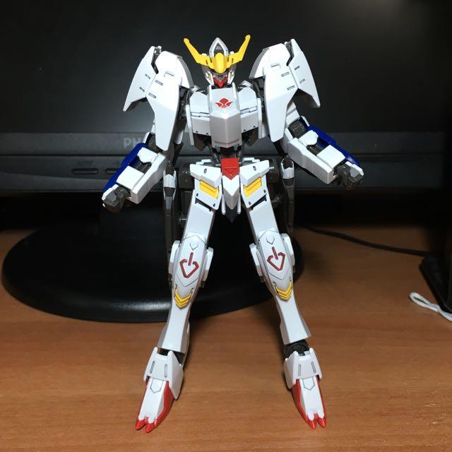 Built 1 144 Hg Gundam Barbatos 6th Form Toys Games Bricks Figurines On Carousell