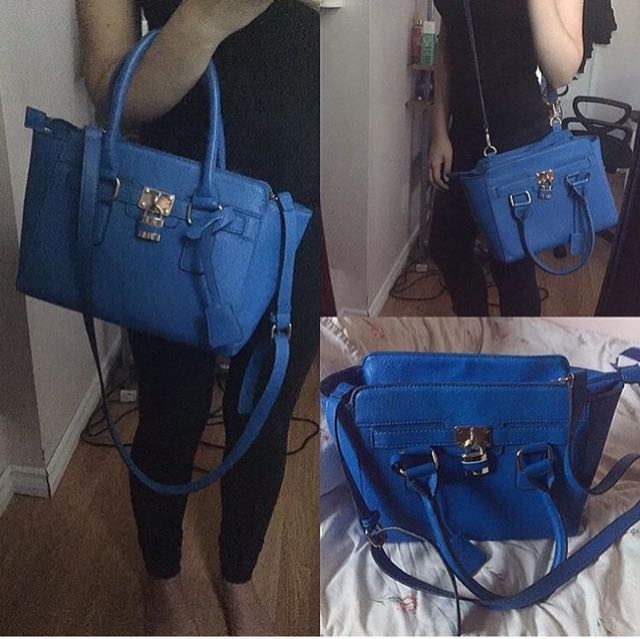 Call It Spring Blue Handbag $15