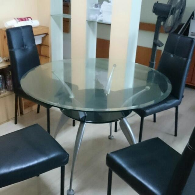 Celine Dining Table Chair Set Furniture Tables Chairs On Carousell