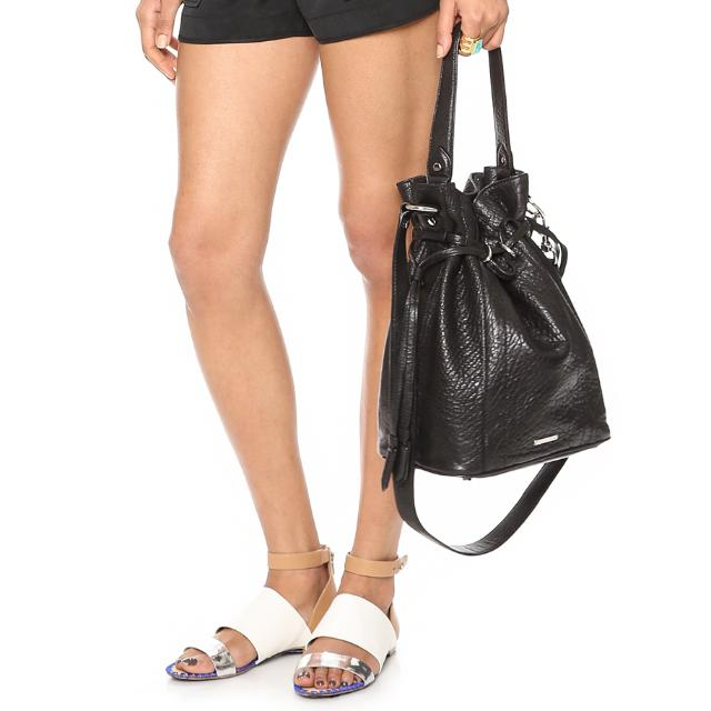 397806adf5a SALE  REBECCA MINKOFF Harley Bucket Bag