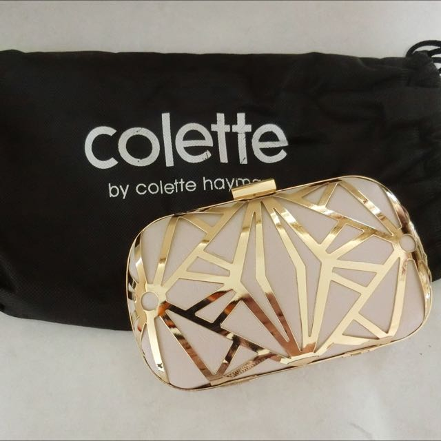 Unused COLETTE CLUTCH BAG