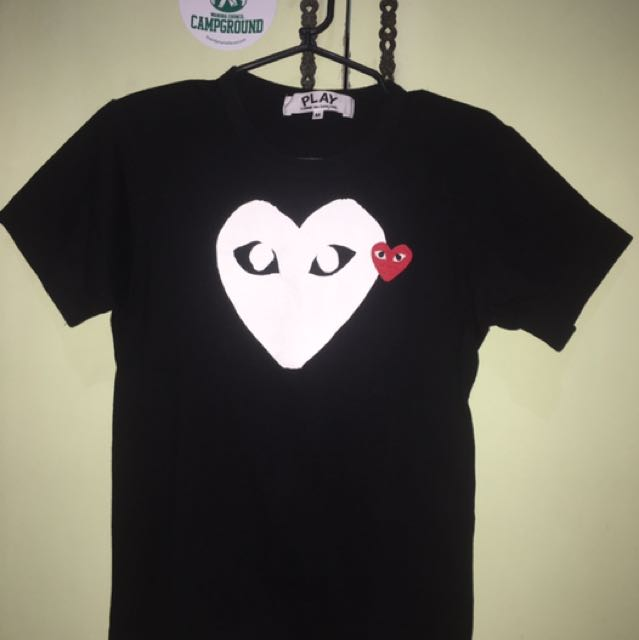 Comme Des Garcons Play Tshirt