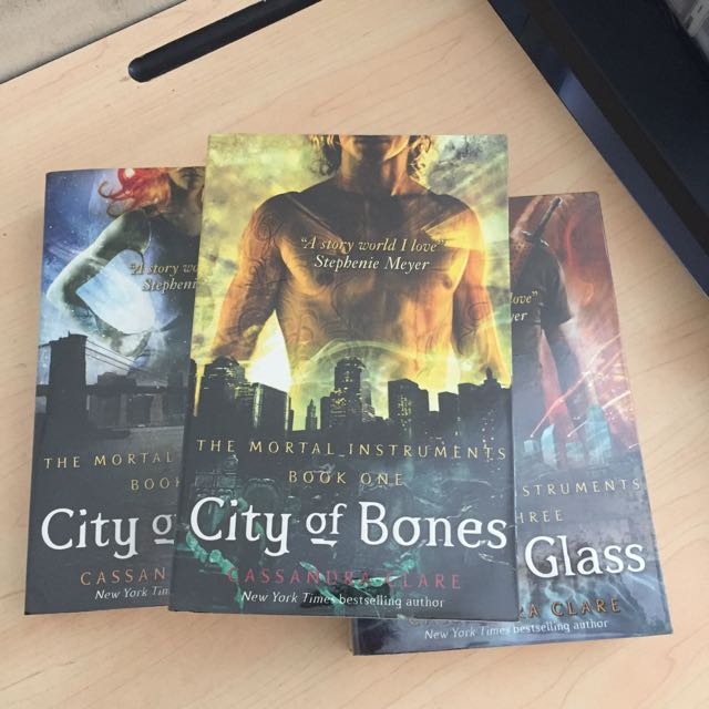 Complete 3 Set Of Mortal Instruments