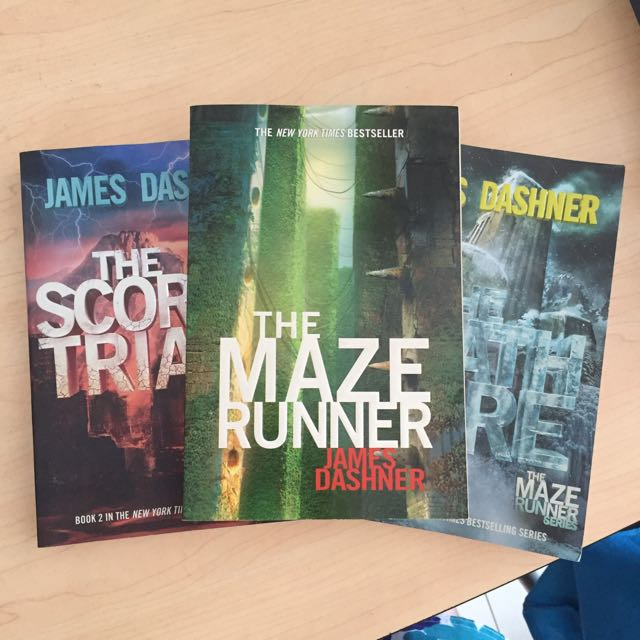 Complete Set Of The Maze Runner Series