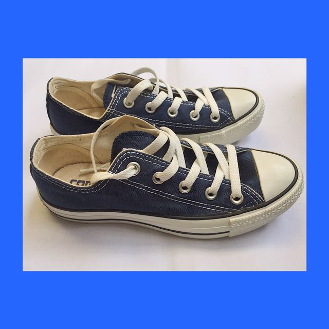 Converse Shoes - Blue