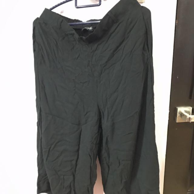 Cotton On Black Culottes
