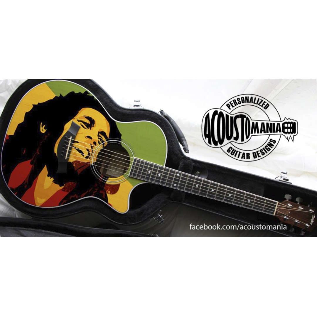 Customized - Personalized Acoustic Guitar Design