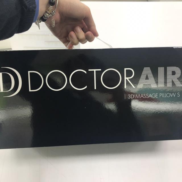 DOCTOR AIR 3D 按摩枕 日本設計
