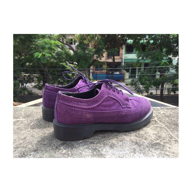 Dr. Martens 3989 Suede Shoes