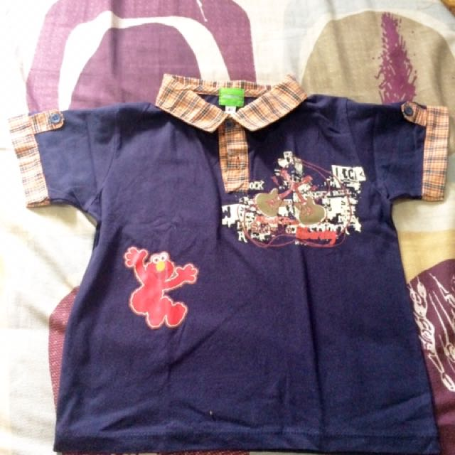 Elmo's Shirt For Boys