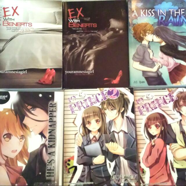 Ex With Benefits Book 1 And 2 Kiss In The Rain He's A Kidnapper My Prince Book 1and 2 With Free Bookmark 100.00 Pesos Each Only!!!!  Txt Or Call Me: 09066154035