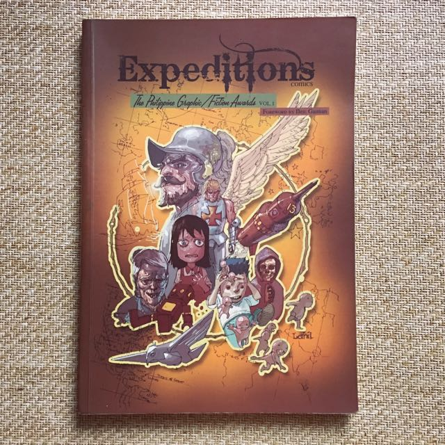 Expeditions: Philippine Graphic / Fiction Awards Volume 1