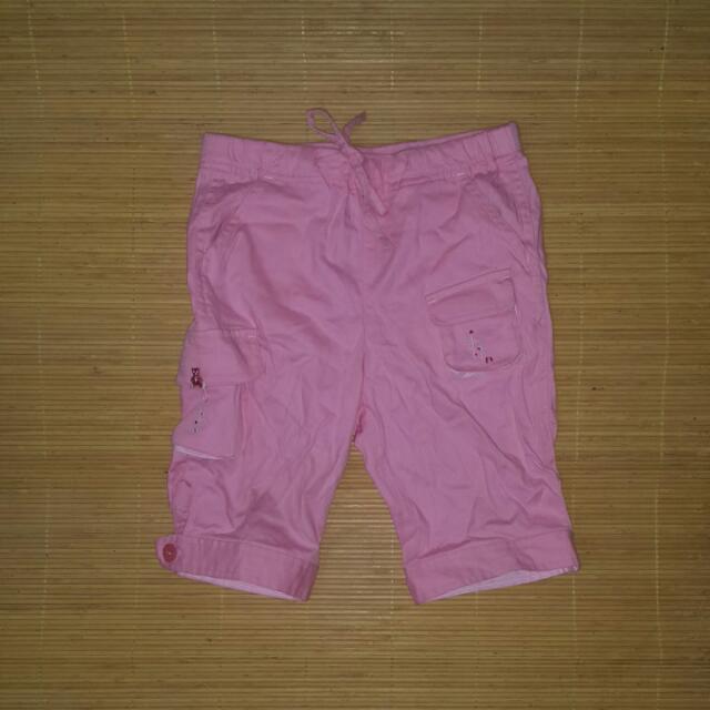 二手名牌麗嬰房familiar小熊造型短褲