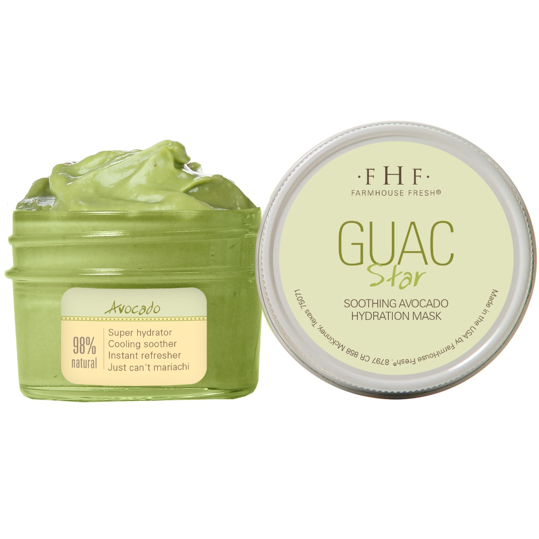 Farmhouse Fresh Soothing Avocado Hydration Mask (RATED 4.5/5 ON AMAZON)