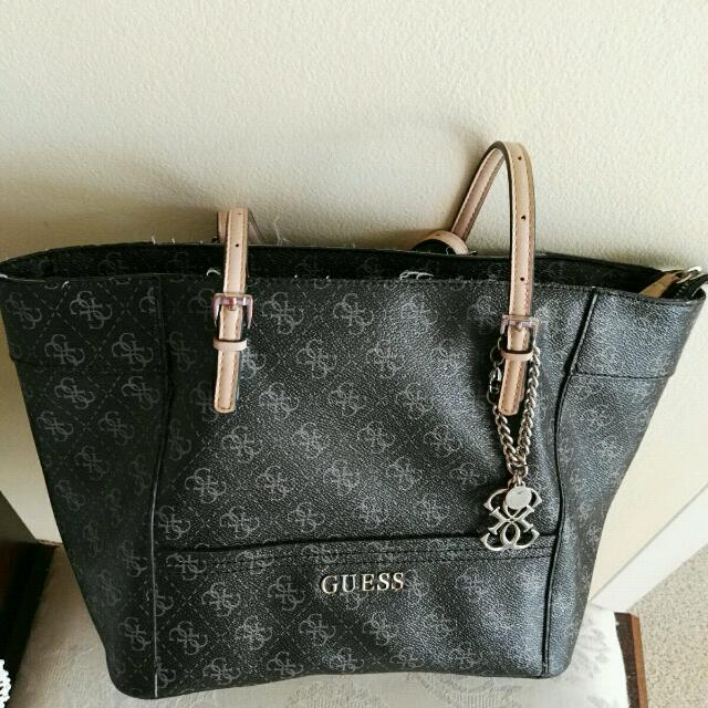 Few Year Old Guess Handbag In A Good Condition.