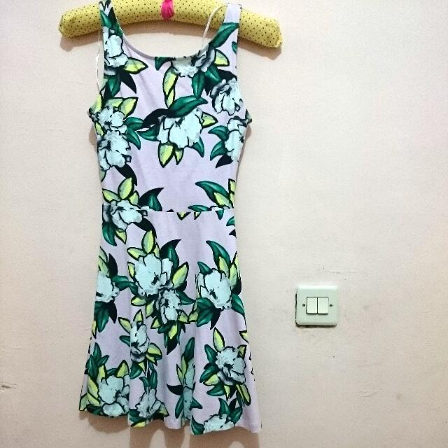 Flower Dress H&M Original