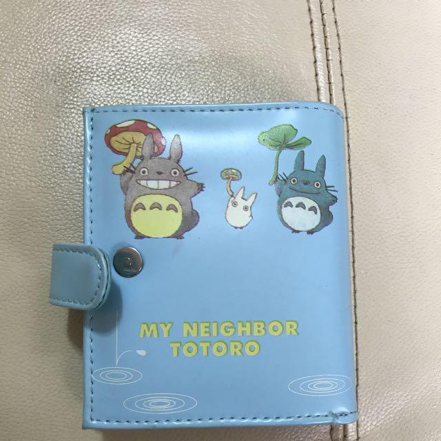 Ghibli Totoro Wallet Kawaii