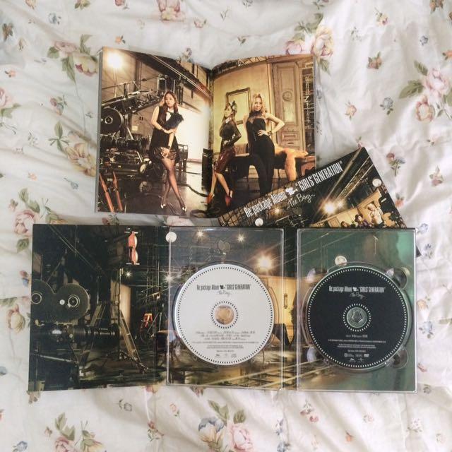 Girls' Generation / SNSD The Boys Repackaged Album Japanese Ver