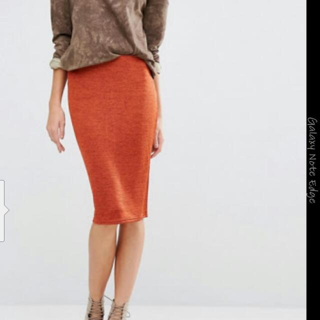 Glamorous bodycon Midi Skirt Size M