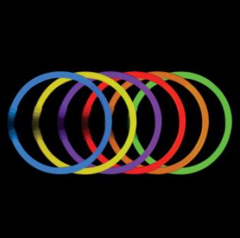 Glow stick warna warni 1 tabung = 100 pcs gelang tongkat fosfor HHM338