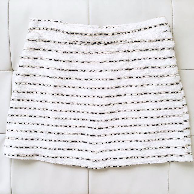 Gold Detailing Skirt