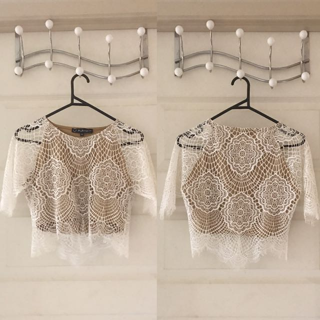 Grace Crop Top (For Love And Lemons)