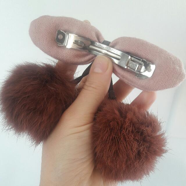 Hair Clip Fur