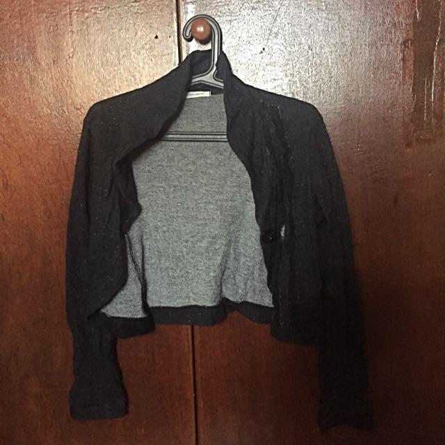 Half Knit Cardigan