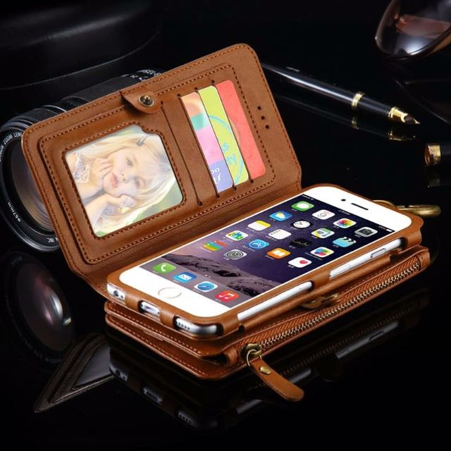 HAND WALLET WITH CASING FOR IPHONE