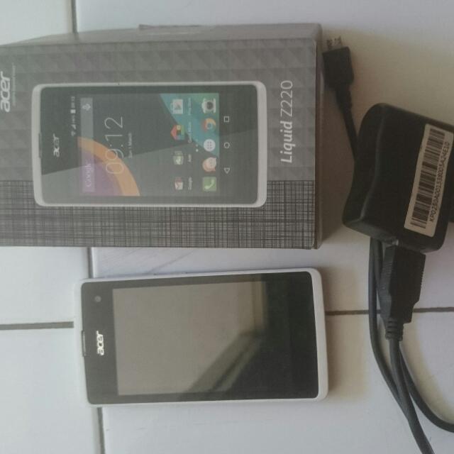 Handphone Acer Z220