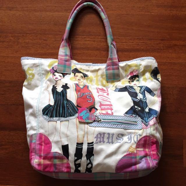 Harajuku Lovers Tote Bag