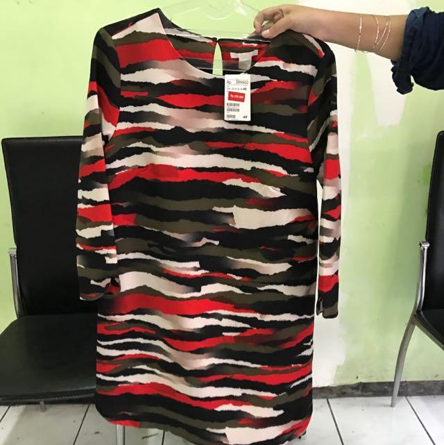 H&M Printed Blouse