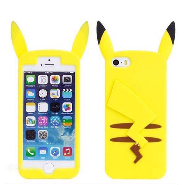 💎I Phone 6皮卡丘手機軟殼💎
