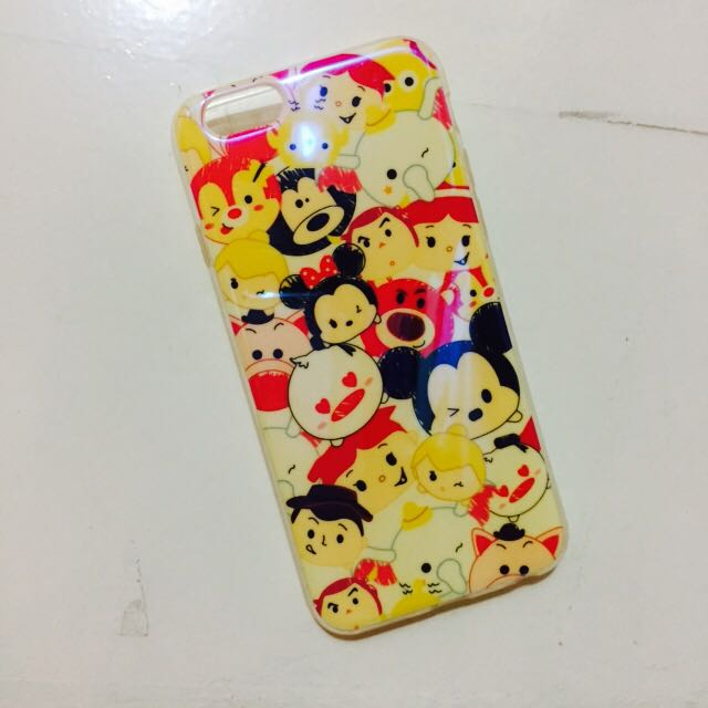 iPhone 6/7 Cute Chibi Animated Silicone Case