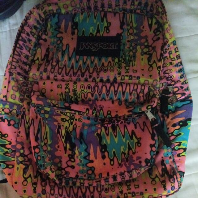 JANSPORT PINK PANSY SUPERBREAK