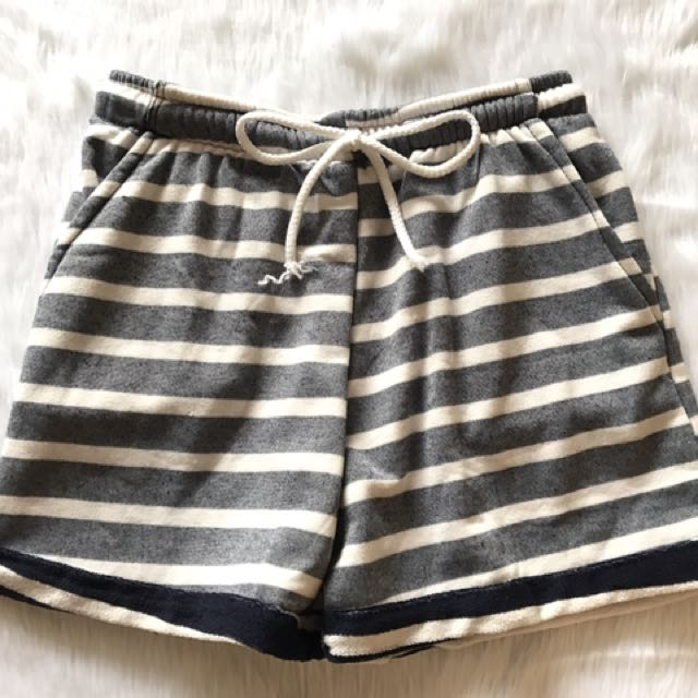 "Jogger Shorts For Women ""stripes"""