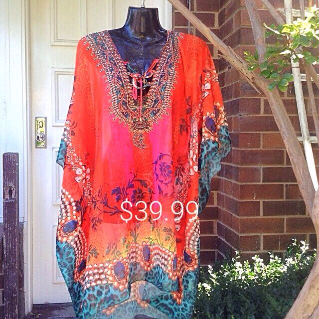 Kaftan Caroline Morgan New With Tags One Size
