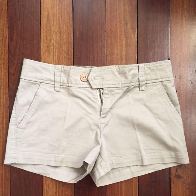 Khaki Shorts (American Eagle, Size 12)