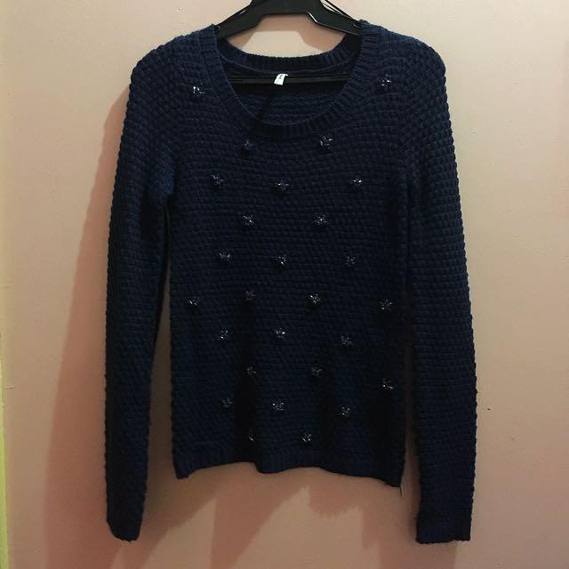 Astradivarius Knitted Top