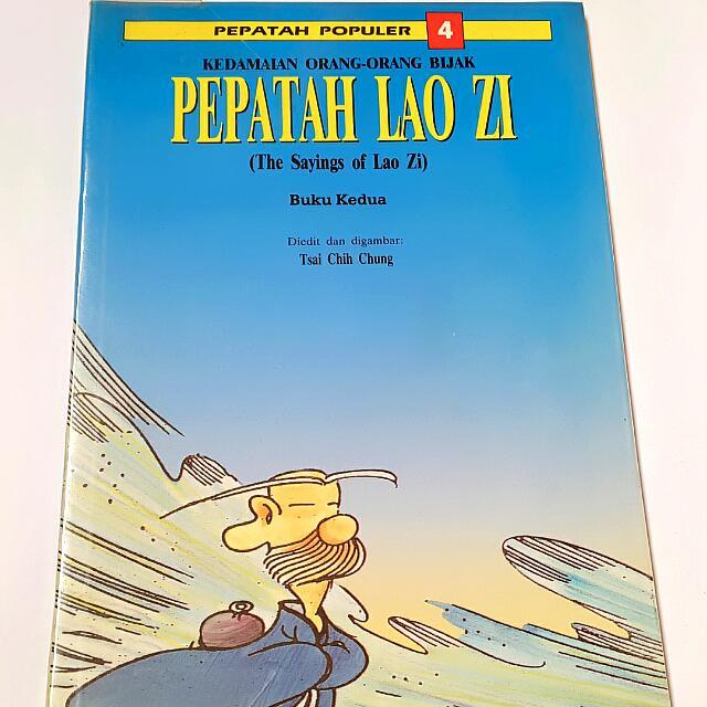 Komik Pepatah Lao Zi 2nd Book