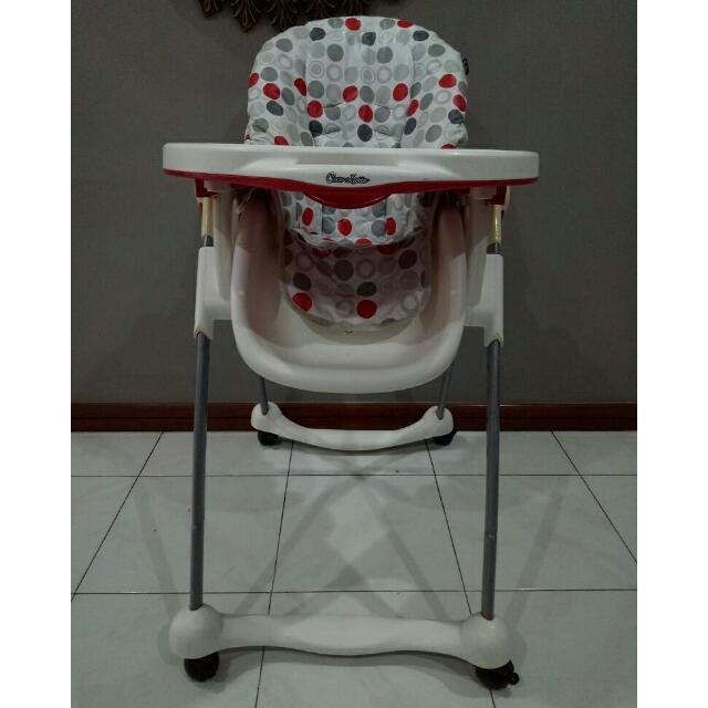 Kursi Makan Anak Bayi Baby Chair Highchair Cocolatte CL-512 bekas