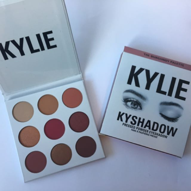 Kylie Cosmetics - The Burgandy Palette