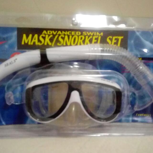 MASK SNORKEL SET (Masker Snorkeling)