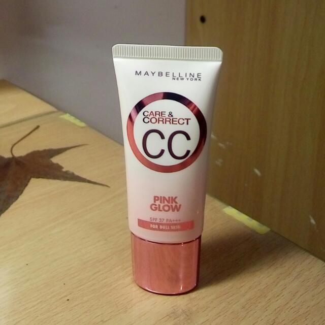 Maybelline~寶石光粉紅CC霜