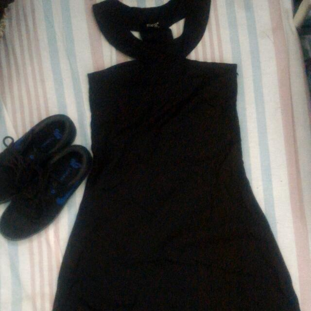 Meg Black Dress