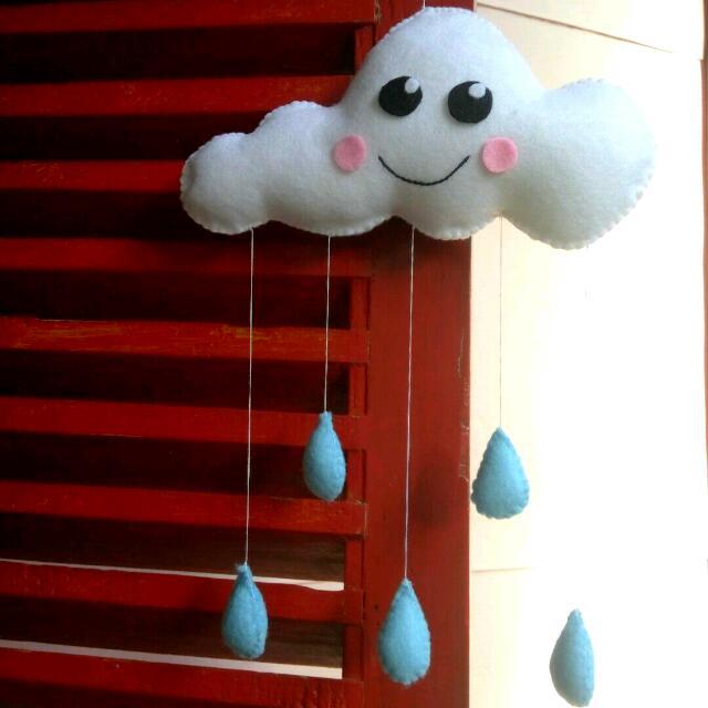 Mini Hanging Cloud