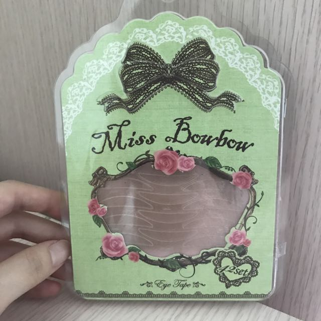 Miss Bowbow Premium Invisible Eye Tape Green