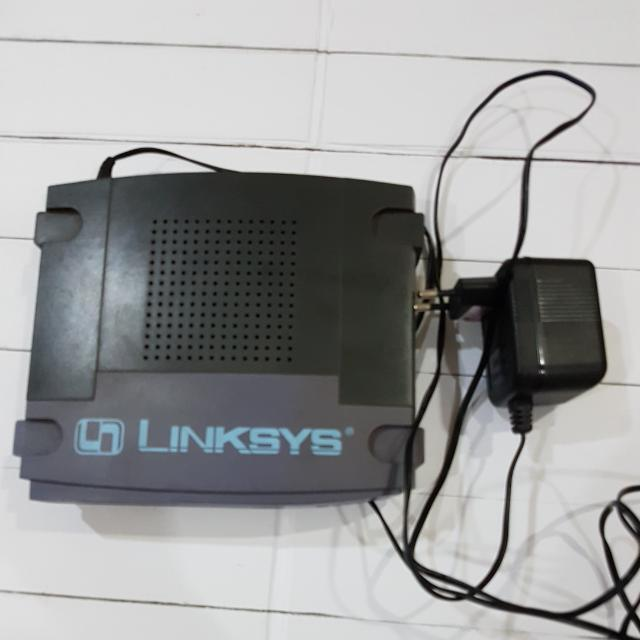 {REPRICE} Modem Cable/DSL Router LINKSYS BEFSR41
