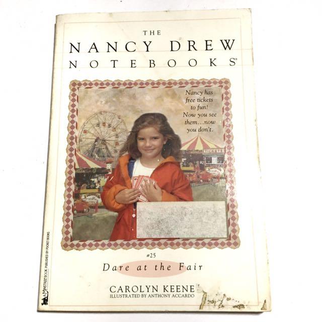 NANCY DREW: DARE AT THE FAIR by Carolyn Keene